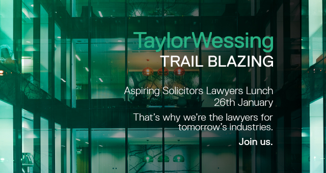 Taylor Wessing Aspiring Solicitors