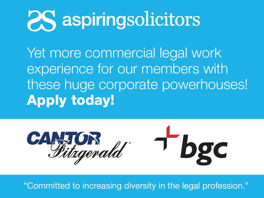 Bespoke Commercial Legal Work Experience